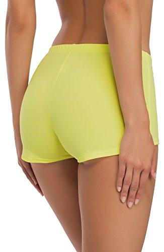 Merry Style Damen Badeshorts Bikinihose Modell L23L1 Gelb (1195)