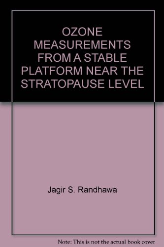OZONE MEASUREMENTS FROM A STABLE PLATFORM NEAR THE STRATOPAUSE LEVEL