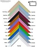 Holz Bilderrahmen lackiert 21x29,7cm DIN A4 Schwarz inklusive bruchsicherem Antireflex-Acrylglas (Kunstglas entspiegelt) Profil L2-SW-AR