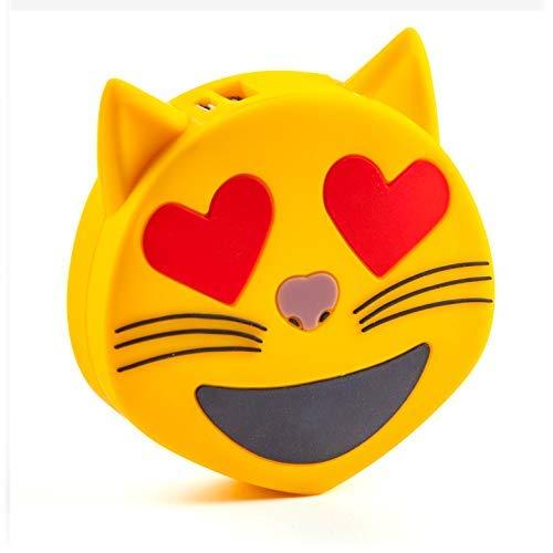 SPRALLA Smiley Power Bank Cat Heart Eyes