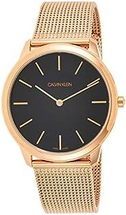 Calvin Klein Mens Quartz Wrist Watch, Analog and Stainless Steel- K3M2162Y