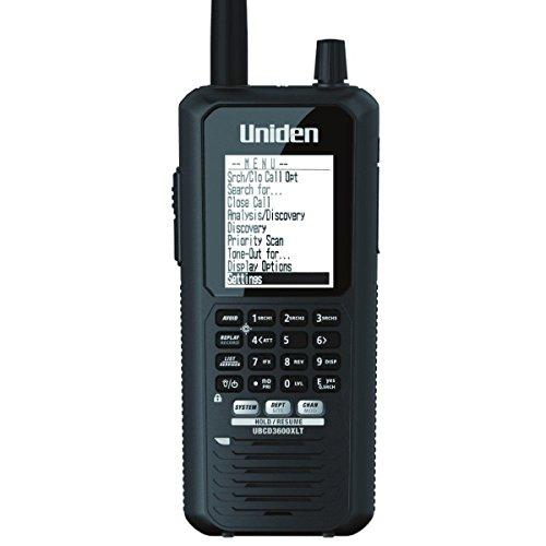 Uniden Bearcat UBCD3600XLT Handscanner mit analog/digital Empfang