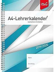 2 Seiten = 1 Woche schwarz Baladek-Einband BRUNNEN 1072991920 Lehrerkalender 2019//2020 /Überformat A4: 23 x 29,7 cm