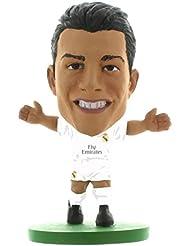 Soccerstarz La Licencia Oficial Real Madrid Cristiano Ronaldo Figura en el Kit de Inicio (Blanco