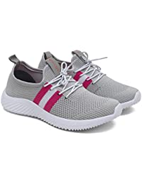 ASIAN Women's Angel-04 Sports Shoes Knitted Shoes Sneakers,Walking,Sneakers,Loafers, Fabric Running Shoes