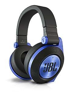 JBL E50 BT Cuffie Stereo Bluetooth Imbottite, Ricaricabili, Wireless, Compatibili con Prestazioni Purebass, Compatibili con Dispositivi Apple iOS e Android, Blu
