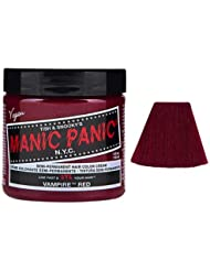 manic panic amplified coloration cheveux semi permanente vibrante 118ml vampire red rouge - Coloration Semi Permanente Rouge