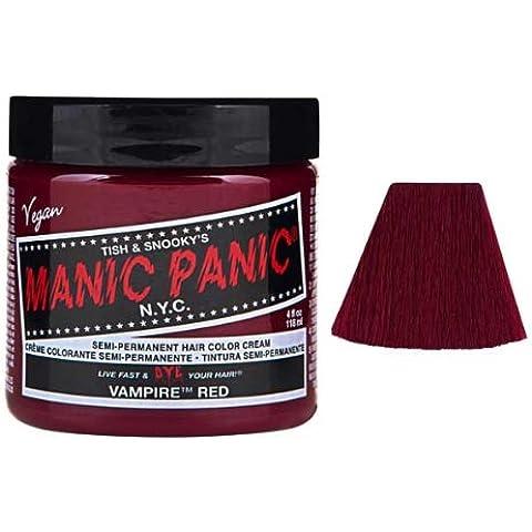 Manic Panic Vampire Red Semi Permanent Vegan Hair Dye. by HealthLand