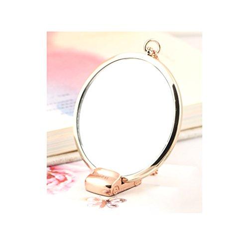 Einseitiger Desktop-Eitelkeits-Make-up-Spiegel Beweglicher Spiegel (Conair Make-up Spiegel)