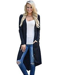 bf33c49af95c SHOBDW 2019 Nouvelle Mode Femme Printemps Automne Hiver Élégant Outwear  Confortable Loose Cardigan Veste Revers Lâche