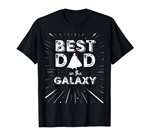 Star War Darth Vader Best Dad Galaxy Father's Day T-Shirt