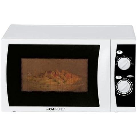 Clatronic MW 781 - Microondas (700 W, 20 litros), color blanco