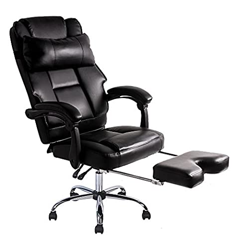 BTM Luxury High Back Executive Faux Leather Office Chair Swivel