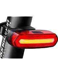 LED Fahrrad Fahrradlicht, FisherMo STVZO Zugelassen Fahrradlampen, Wiederaufladbare CREE FahrradBeleuchtung Wasserdicht Taschenlampe für Außen Radfahren Fahrräder