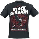 Black Sabbath The End Church Window T-Shirt schwarz M
