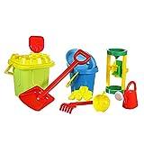 Grande giocattolo bambini spiaggia di sabbia Set di gioco per Castelli di Sabbia per mulino ad acqua e sabbia perfetto per sabbiera & Vacanza