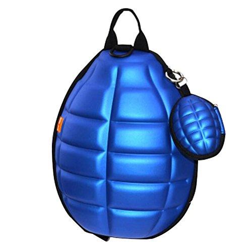 Kinder Rucksack Weitermachen, (Kreative Kinder-Rucksack-weiche Schulter-Beutel-Art-Schule-Beutel-Saphir-Blau)