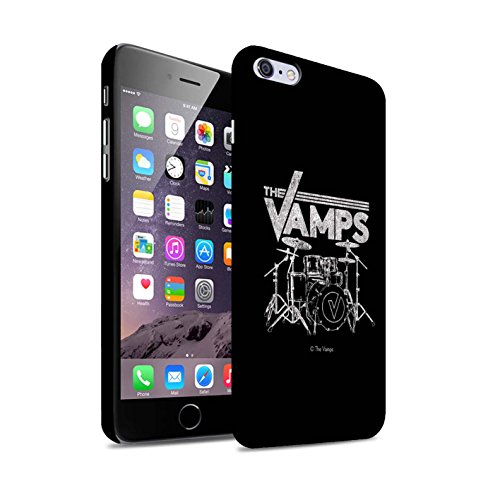 Offiziell The Vamps Hülle / Matte Snap-On Case für Apple iPhone 6+/Plus 5.5 / Pack 6pcs Muster / The Vamps Graffiti Band Logo Kollektion Schlagzeug
