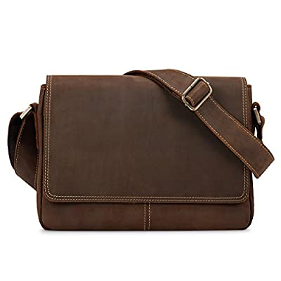 Kattee Sac Bandouliere Cuir Homme Sacoche Besace Sac Messenger