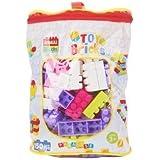 [Sponsored]Curtis Toys Building Blocks Bag, Multi Color (150 Pieces)