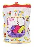 #10: Curtis Toys Building Blocks Bag, Multi Color (150 Pieces)