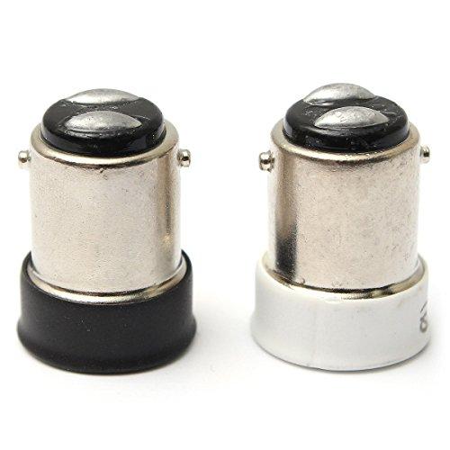 Bluelover Petite Baïonnette Sbc B15 À Petite Vis Ses E14 Ampoule Titulaire Adaptateurconvertisseur-Blanc