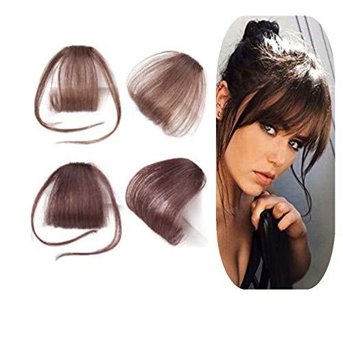 etische Fasern Haarteile Hitzebeständig Angenehm Falsch Pony für Frau Dekorationen ()