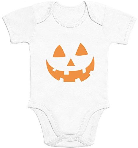 Besten 100 Ideen Kostüm (Süsser Halloween Kürbiskopf für die Kleinsten Baby Body Kurzarm-Body Newborn)