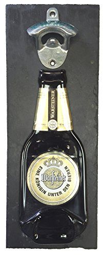 warsteiner-beer-bottle-opener-wall-mounted-on-slate-backing-made-by-bottleclocks-great-item-for-your