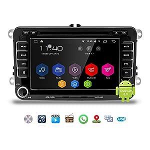 como mejorar posicionamiento en google: Podofo Android Car Estéreo para Volkswagen Doble Din Radio para coche Bluetooth ...