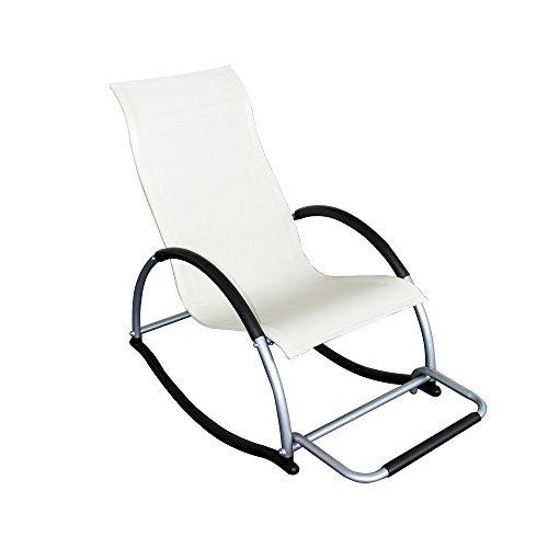 silla mecedora de caño