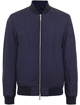 BOSS Hombres chaqueta reversible coram Azul Oscuro 52