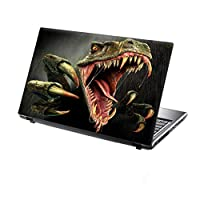 TaylorHe 15.6 inch 15 inch Laptop Skin Vinyl Decal with Colorful Patterns and Leather Effect Laminate MADE IN BRITAIN