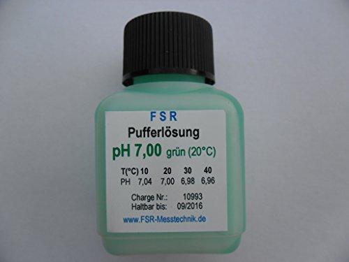 pH 7 Kalibrierflüssigkeit Kalibrierlösung Pufferlösung Eichlösung pH Messgerät Tester Meter 2048 (Ph-kalibrierflüssigkeit)