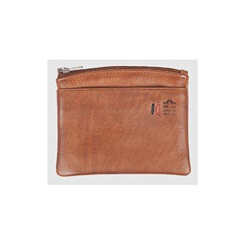 Serge Blanco - Porte-monnaie Serge Blanco en cuir ref_tnt40074-980-anthracite-11*9*2