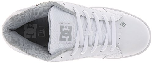 DC Shoes Net, Baskets mode homme Blanc (Wih)