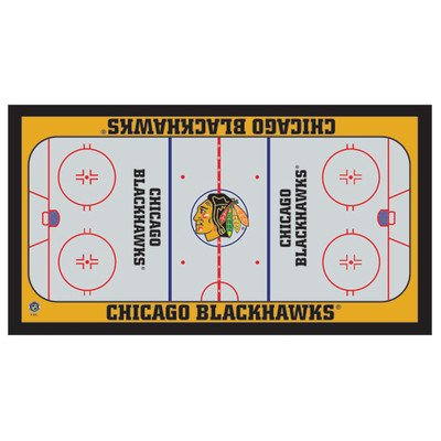 NHL Chicago Blackhawks 28 x 52-Inch Floor Mat