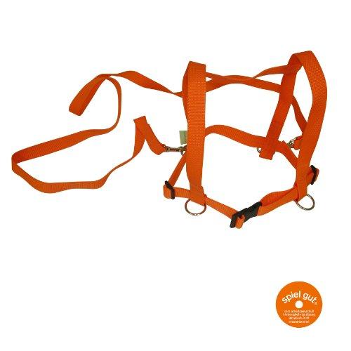 Zügelmatz Spielzügel orange
