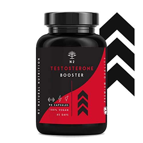 Testosterona Natural Aumenta Testosterona-Fenogreco Ginseng Maca Taurina Zinc Rendimiento...
