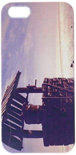 Wishing Well mit Holz Eimer auf Einem Barren Landschaft Handy Schutzhülle iPhone5