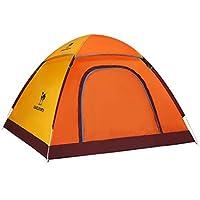 Werfen Sie den Outdoor-Zelt Outdoor-Freizeit-Camping-Zelt drei Viertel