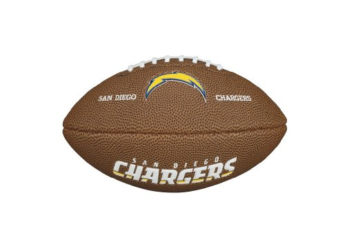 Wilson NFL San Diego Chargers Mini Soft Touch Football