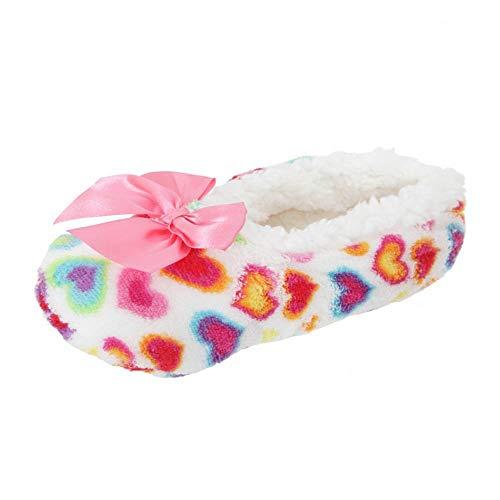 Sherpa Thermal (i-Smalls Damen Luxus Soft-Co zees Sherpa Ballerina-Socken)