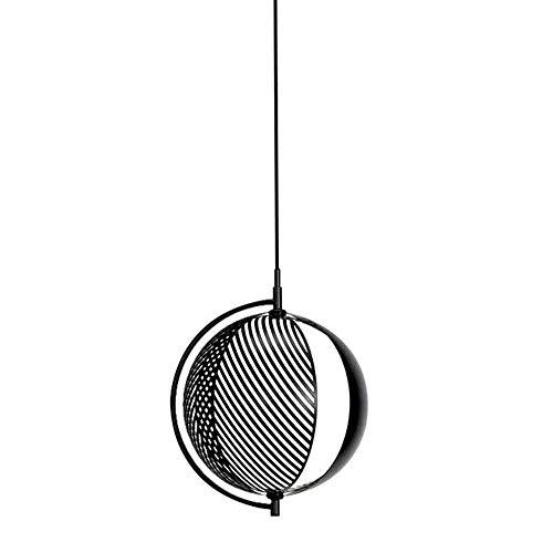 TYUIO Pendelleuchte, Retro-Stil, Vintage Loft Design, schwarz Korb-Rahmen hängende Deckenleuchte, Industriebeleuchtungsvorrichtung und Dekoration for Wohnzimmer Schlafzimmer -
