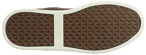 Etnies Herren Jefferson Skateboardschuhe Braun (Brown/TAN/WHITE)