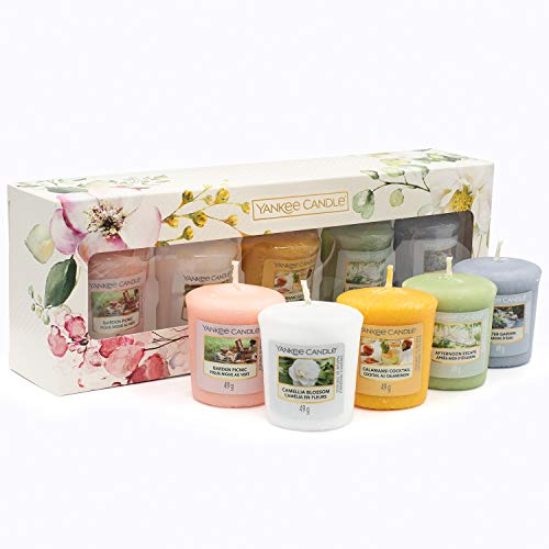YANKEE CANDLE Gift Set Geschenkset, Kerzenwachs, Mehrfarbig, 4,6cm x 4,8cm