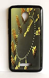 Micromax Q391 Canvas Doodle 4 back cover silocon Rubberized printed designer cover