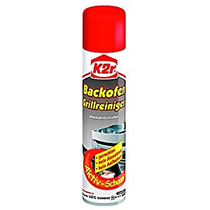 K2r® Backofen-Grillreiniger Spray, 3er Pack (3 x 300 ml)