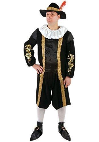 Reich Tudor Earl König Natter historisch Kostüm Kleid Outfit ()