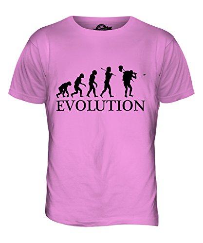 CandyMix Schmetterling Fangen Insektensammlung Evolution Des Menschen Herren T Shirt Rosa